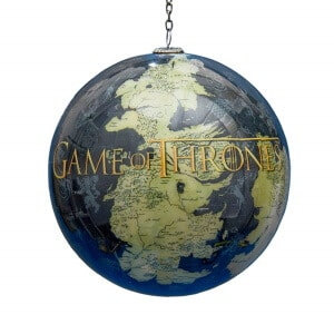 Game of Thrones Map Ball Ornament