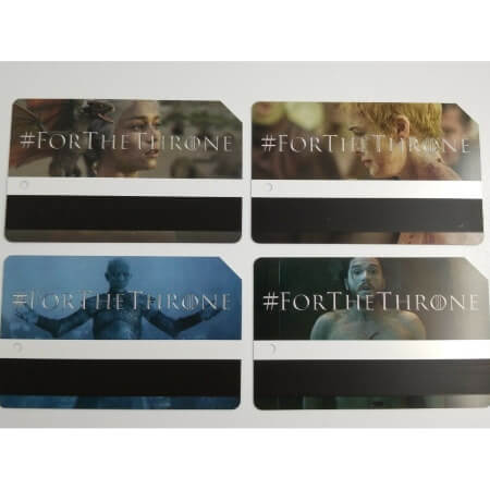 Game of Thrones NY Subway Tickets