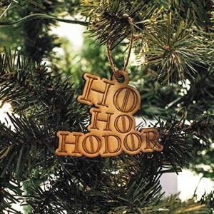 Ho Ho Hodor Ornament