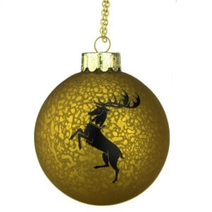 House Baratheon Ball Ornament