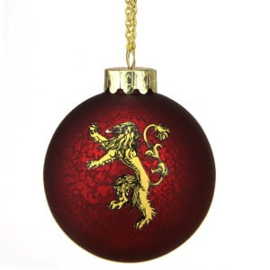 House Lannister Ball Ornament