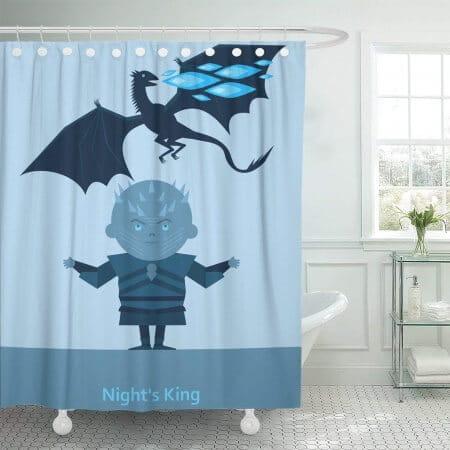 Night King Shower Curtain