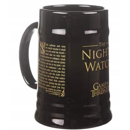 Nights Watch Ceramic Stein Mug 2
