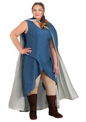 Plus size Daenerys Blue Dress