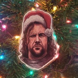 The Hound Christmas Ornament