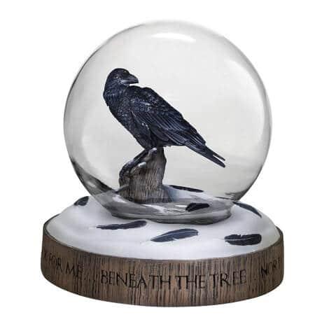The Three-Eyed Raven Snow Globe