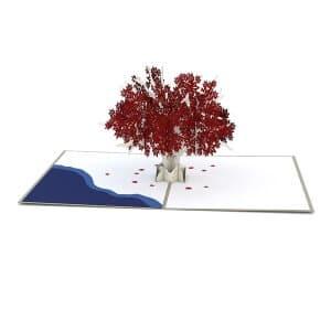 Weirwood Tree popup card