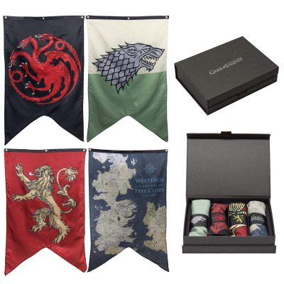 A Set of 4 Wall Banners