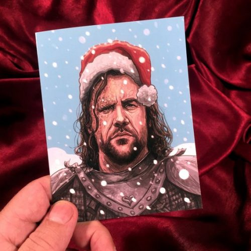 Game of Thrones Christmas card 3