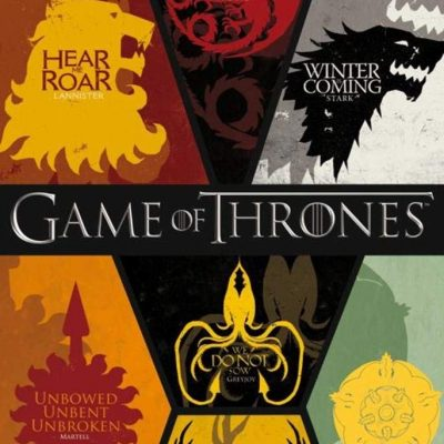 Game of Thrones House Sigils Collage