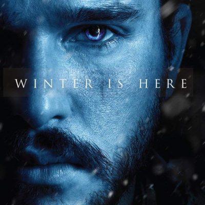 Jon Snow Winter is Here Poster