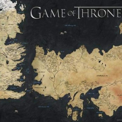 Map of Westeros Poster