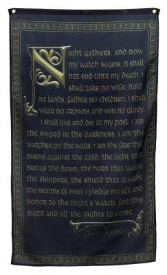 Night's Watch Oath Banner