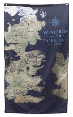 Westeros Map Banner